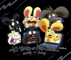 10 Years of Mat and Brixie by Machu