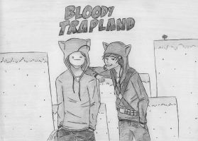 Bloody Trapland - Pewdiecry by Raaaphi