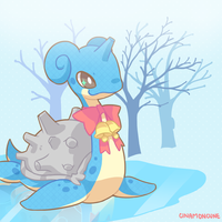 Day 12 - Lapras by Cuney