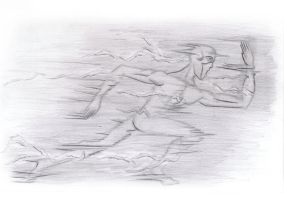 traditional : the flash running 2014 by darshan2good