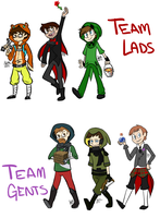 Achievement Hunters by NocturnalMelodies