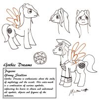 MLP OC ~ Gothic Dreams by HypoThermus