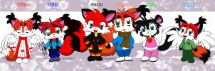 Chibi Family by jamesfoxbr