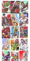 Personal Sketch Card series 1 by jasinmartin