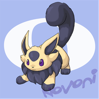 Ion, Eevee's cousin by Novoni