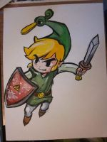 Toon LInk from The Minish Cap by TheDorkyDerpster