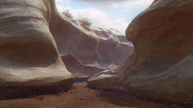 Canyon by sergin3d2d