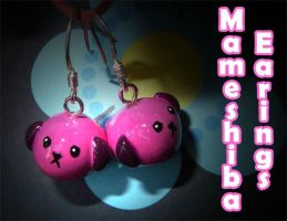 Mameshiba Earings by Kelzky