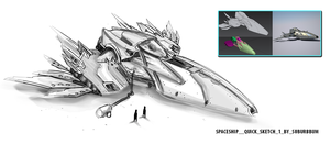 3d spaceship Model Release Notes by sashander