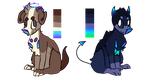 Mystery dog adopts CLOSED by Amanska