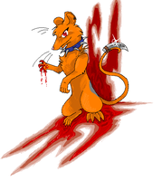 Imea Rat: The Murderer by theourannezumi