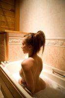 Bathe by candlelight by TakerofPhotos