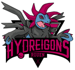 Rouen Hydreigons Logo by Chain-Of-Ashes