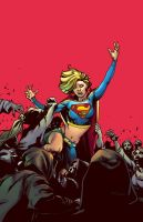 Supergirl 65 Cover by warnia
