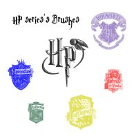 HP Series's Brushes by LeMeNe