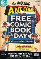 Ant Comics FREE COMIC BOOK DAY 2013 by byWizards