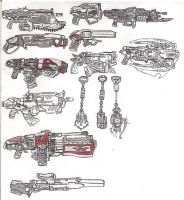 armas gears of war parte 2 by Lavey1917