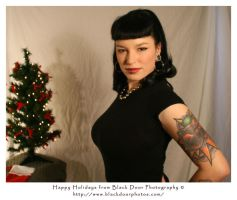 Holiday Pin-Up 1 by BDP by blackdoorphotos