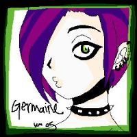 Germaine by tikinyamu