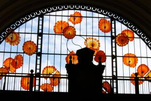 The Monarchs at Union Station by bandoodie
