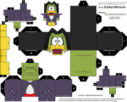 Cubee - Count Duckula '1of2' by CyberDrone