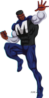 Blue Marvel by hulkdaddyg