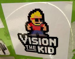 Vision the Megaman Sticker by Tails-155