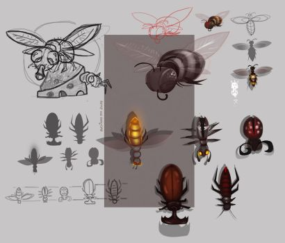 Bugs by 100RadCoffee