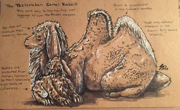 Camel Rabbit by Waterbear