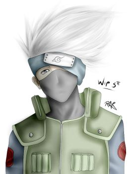 Kakashi WIP fail- UPDATED by Ita-Freak