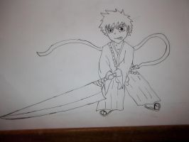 picture of ichigo for mono70s chibi chalange :D by mightyplue