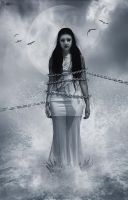 chained by queenphotoshop