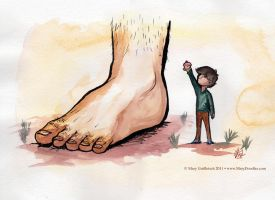 IT'S A FOOT by MaryDoodles