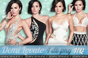 Demi Lovato Png Pack by bernadett98