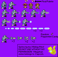 Bisect Man and Myco Man Sprite Attempts by Midday-Mew
