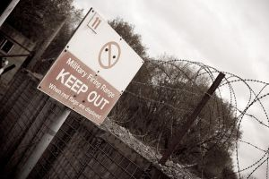 KEEP OUT by carlsilver