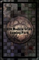 D20 Modern Grids Gaming Pack by EranFolio