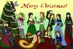 Merry Christmas from Savvy by Captain-Savvy