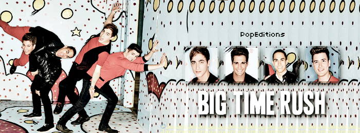 Big Time Rush-Portada by PopEditions