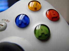 Buttons on Xbox 360 Controller by ArtmasterRich
