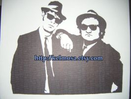 The Blues Brothers by Kelmo
