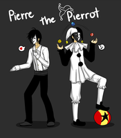 .: OC: Pierre the Pierrot :. by MisterZei