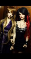 Diva and Zita by dollstars