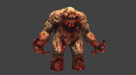 Quake 1 Shambler HD Remake MudBox Work In Progress by s13n1