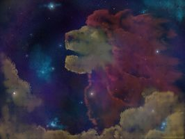 Lion Nebula by Noweia
