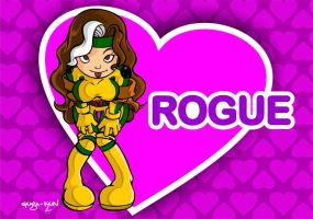 ROGUE CARTOON by Guga-kun