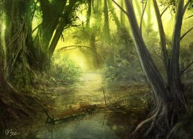 Jungle Study by d3fect