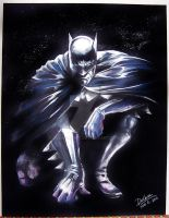 BATMAN_PAINTING1 by CrisDelaraArt