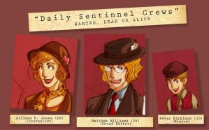 aph: Daily Sentinnel by MieKuning
