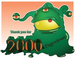 2,000 Pageviews by Omniron